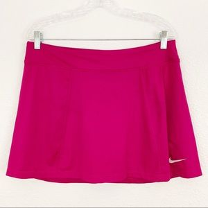 Nike Dri-Fit Golf / Tennis Pink Skort Size L